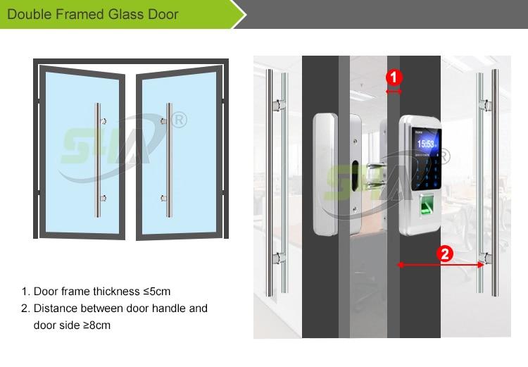 5.Double Framed Glass Door