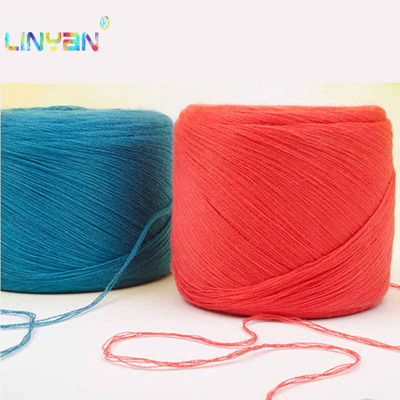 500g/lot cheap yarn for knitting crochet Wool+ Cotton laine a tricoter Notoginseng wool thread Hand Knitting Crocheting DIY t50