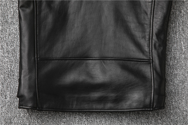 Hbc046a87fd034fcf80765bd6c0d928778 Free shipping,Sales!Brand new genuine leather jacket.mens motor biker sheepskin coat.slim plus size jackets.leather outwear