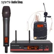 Профессиональная Беспроводная микрофонная система звук аудио одна запись студия концертный KTV караоке DJ беспроводной Динамический микрофон EW135G3 EW135 G3