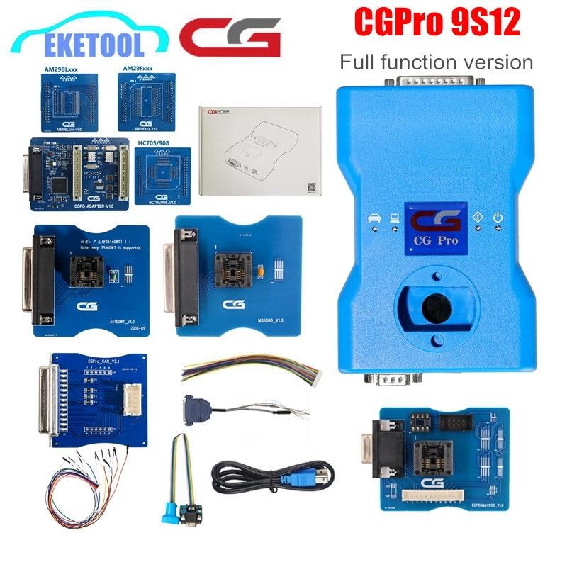 Originale CGDI CG Pro 9S12 Per BMW Programmatore Chiave Nuova Generazione di CG100 CG-100 Per Freescale Versione Completa Tutti I SIM Card e Adattatori