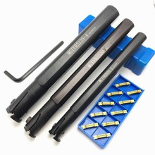 MGIVR2016 2 MGIVR2520 MGIVR3125 1.5 / 2/3/4 inner hole turning tool holder CNC inner groove tools holder+10PCS MGMN cutting tool