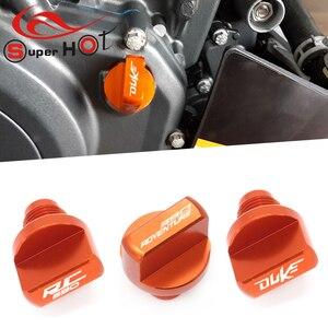Image 1 - สำหรับ KTM 390 Adventure RC390 DUKE390 RC DUKE 390 250 200 125 390ผจญภัยรถจักรยานยนต์อุปกรณ์เสริมเครื่องยนต์น้ำมันปลั๊ก