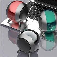 Wireless Speaker Music-Player Multi-Bass Outdoor Mini Portable Metal Bluetooth True Robot-Shaped