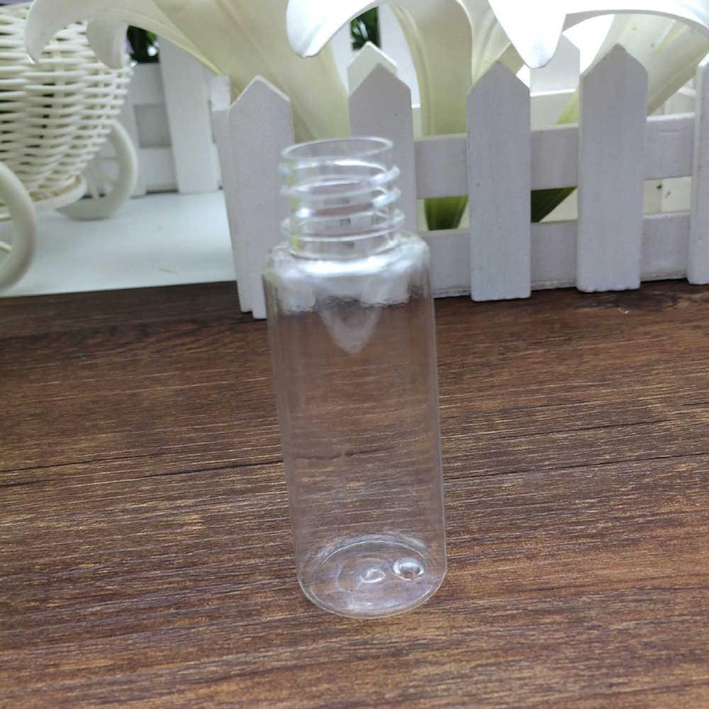 20ml Nachfüllbare Flaschen Reise Tragbare Klare Transparente PET Feinen Nebel Spray Flasche Schönheit Make-Up Werkzeug Dame dropshipping TSLM1