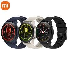 Xiaomi Mi-reloj con Monitor de ritmo cardíaco y sueño, Monitor de Color, oxígeno en sangre, GPS, Bluetooth 5,0, Pantalla AMOLED 1,39, resistente al agua hasta 5atm