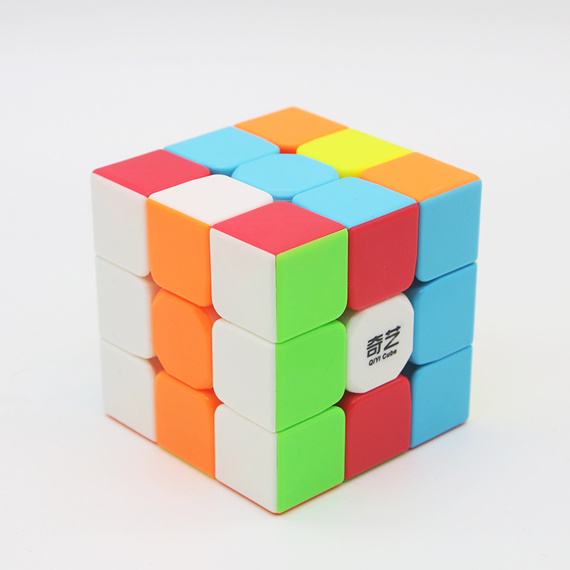 Qiyi Warrior W 3x3x3  Cube Magic Cube Professional 3x3 Speed Cubes Puzzles 3 By 3 Speed Cube Toys For Children