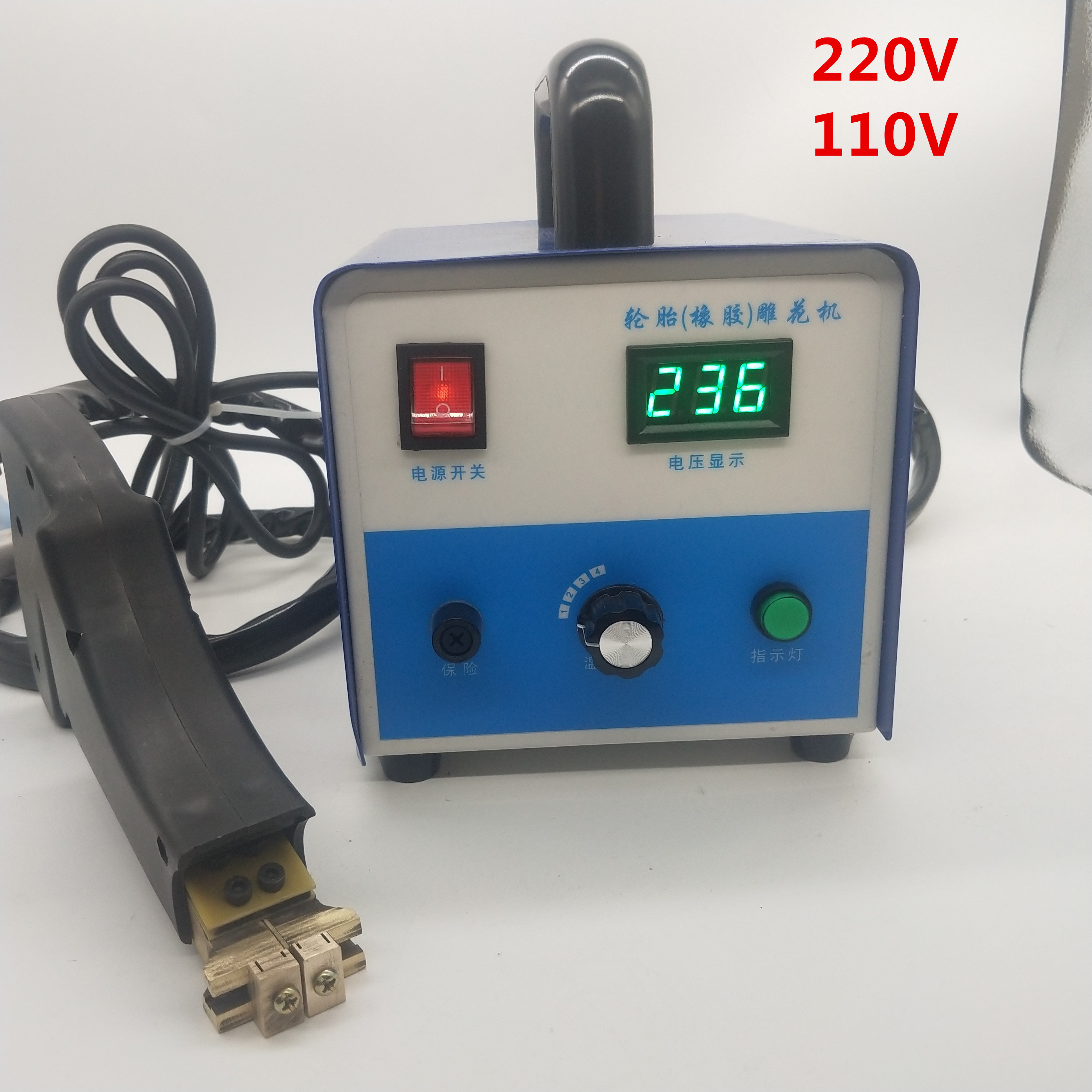 New Digital  Tire Regroover Truck Tire Car Tire Rubber Tire Regrooving   Electric Rubber Cutting Machine