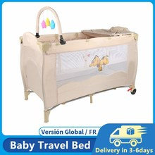 Baby Crib Splicing Large Bed Removable Multifunctional Portable Folding Newborn Baby Game Bed Travel Bed Baby Accessories HWC