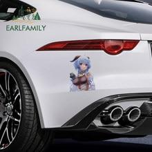 EARLFAMILY 26 سنتيمتر x 19 سنتيمتر ل Genshin تأثير ملصقات السيارات مادة الفينيل ملصق مائي دراجة نارية شخصية واقية من الشمس انسداد الصفر