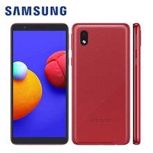 100% oryginalny Samsung Galaxy A01 rdzeń A013G/DS globalny telefon komórkowy Android 10 5.3