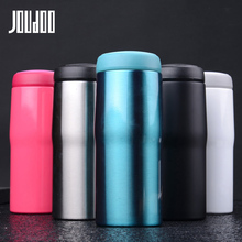 JOUDOO 280/350ml Mini Thermos Cup Double Wall Vaccum Flasks 304 Stainless Steel Thermocup Insulated Hot Water Bottle 35
