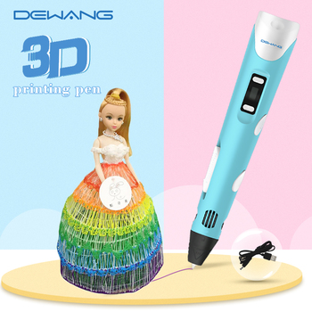 DEWANG 3D Pen for Kid Printing with USB RP800A PLA ABS Filament DIY Toy Birthday Gift Drawing