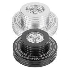 Aluminum Record Stabilizer Turntable Bubble Level LP Vinyl Disc Stabilizer