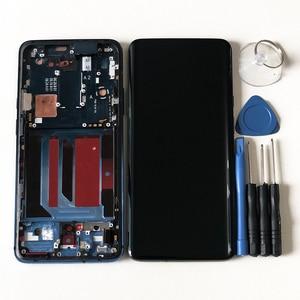"Image 4 - 6.67 ""מקורי Supor Amoled M & SenFor OnePlus 7 Pro LCD תצוגת מסך + מגע פנל Digitizer מסגרת עבור oneplus 7T Pro LCD"