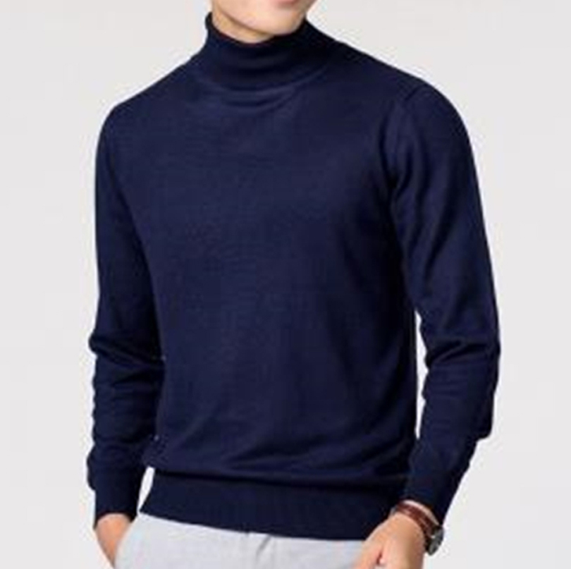 Autumn And Winter Cashmere Turtleneck Men Sweater Clothes  Jersey Hombre Pull Homme Hiver Pullover Men Sweaters одежда J701