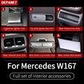 Серебряные аксессуары для интерьера для Mercedes GLE W167 350 450 500e gls w167 450 500 550x167 аксессуары для интерьера