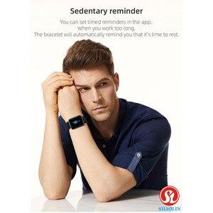Image 5 - ساعة ذكية بلوتوث مقاوم للماء الرجال النساء Smartwatch ل أبل ساعة آيفون أندرويد ساعة رصد معدل ضربات القلب اللياقة البدنية المقتفي
