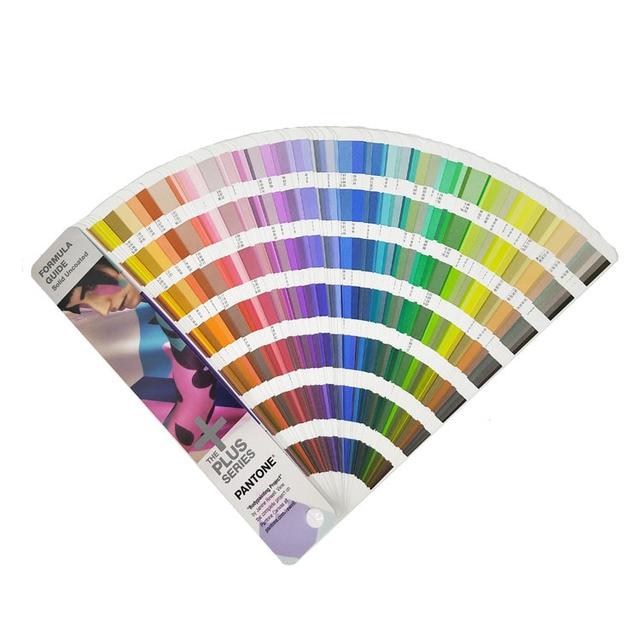 Livraison gratuite 1867 solide série Pantone Plus formule Guide de couleur puce ombre livre solide non couché seulement GP1601N 2016 + 112 couleur