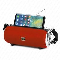 Altavoz portátil inalámbrico de alta potencia con Bluetooth, reproductor de música con soporte para teléfono, columna para TV y teléfono
