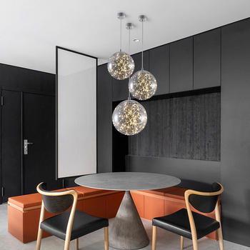 Hanging Pendant Lights Lamp Fixtures Decor Bedroom Bar Nordic Dining Table Study Pendant Lamp Industrial Pandent String Light