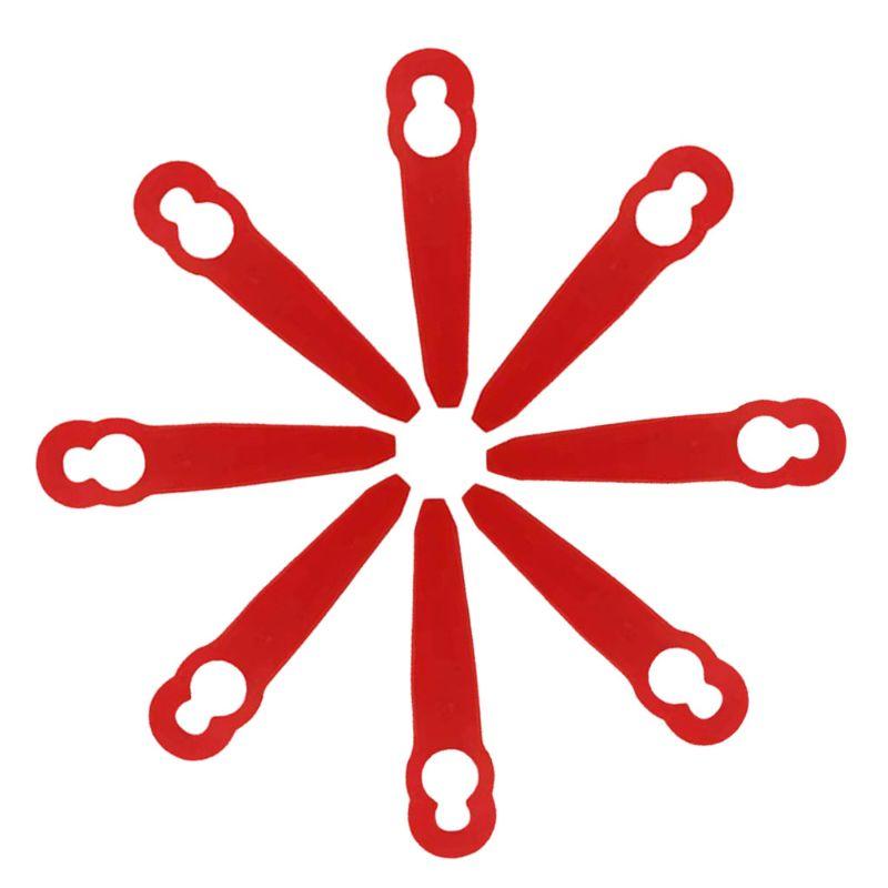 8pcs Plastic Trimmer Blades For Stihl PolyCut 2-2 FSA 45 Lawnmower Grass Easy Trim Trimmer Garden Tools