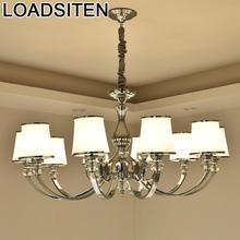 Nordic Dining Room Light Lustre Para Quarto Crystal Loft Deco Maison Lampen Modern Luminaria Lampara Colgante Hanging Lamp
