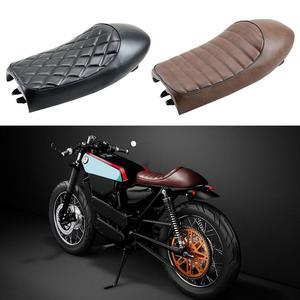 Motorcycle Motorbike Hump Flat Cafe Racer Saddle Seat Cushion Pad for H-onda(China)