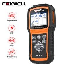 FOXWELL NT604 OBD Scanner Code Reader Motor Überprüfen Scan Tool ABS SRS Übertragung Werkzeuge Für Auto 4 System Diagnose Freies update