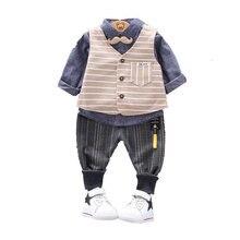 3 шт/компл Детские хлопковые футболки в полоску шт