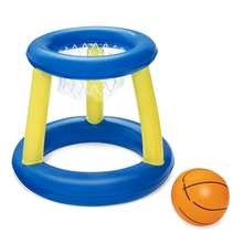 Water Basketball Hoop Pool Float Inflatable Play Game Swimming Pool Toy Water Sport Toy Pool Floating Toys for Children