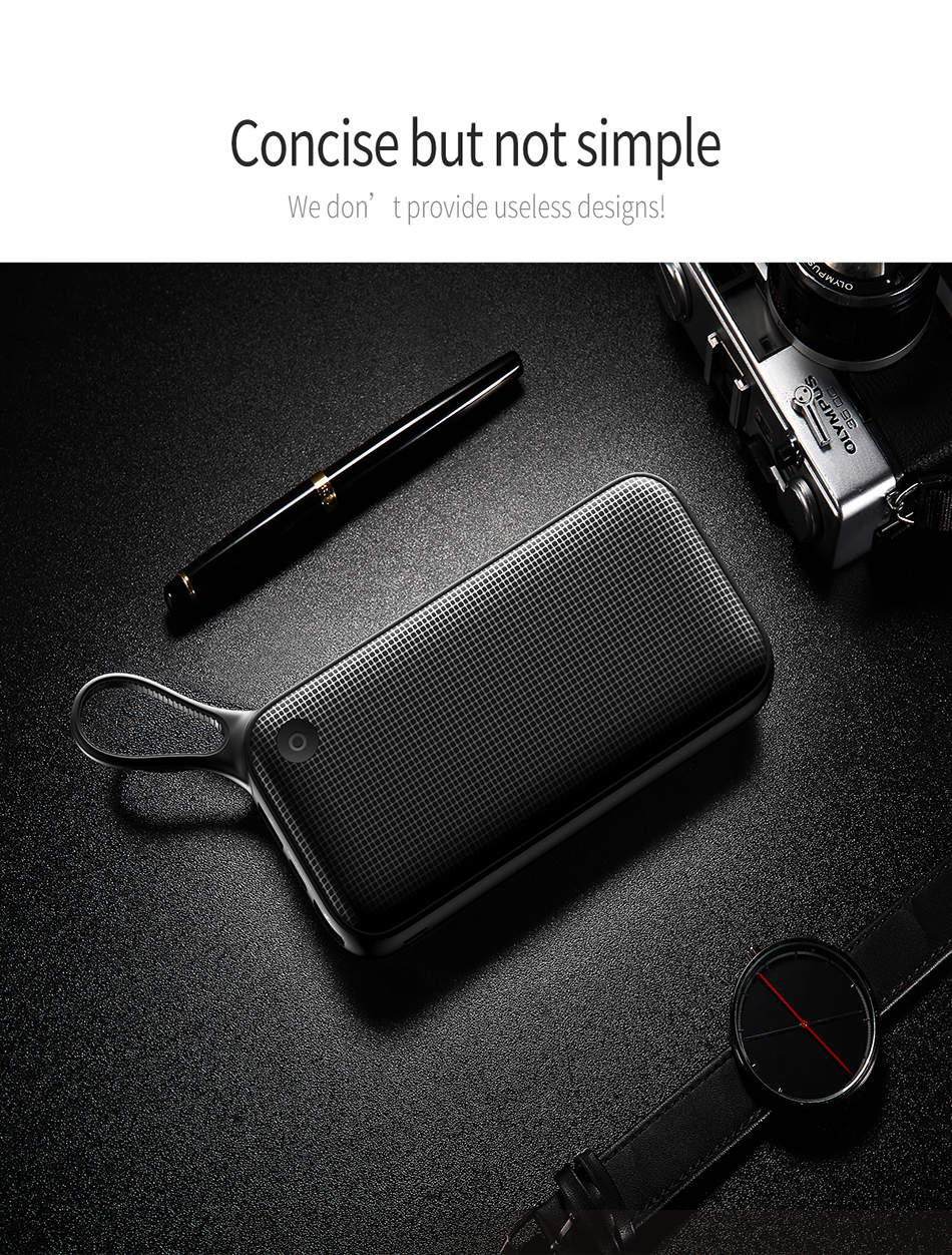 Baseus 20000mAh Quick Charge 3.0 Power Bank For Xiaomi Mi 000 mAh USB C PD Fast Portable External Battery Charger Powerbank 15