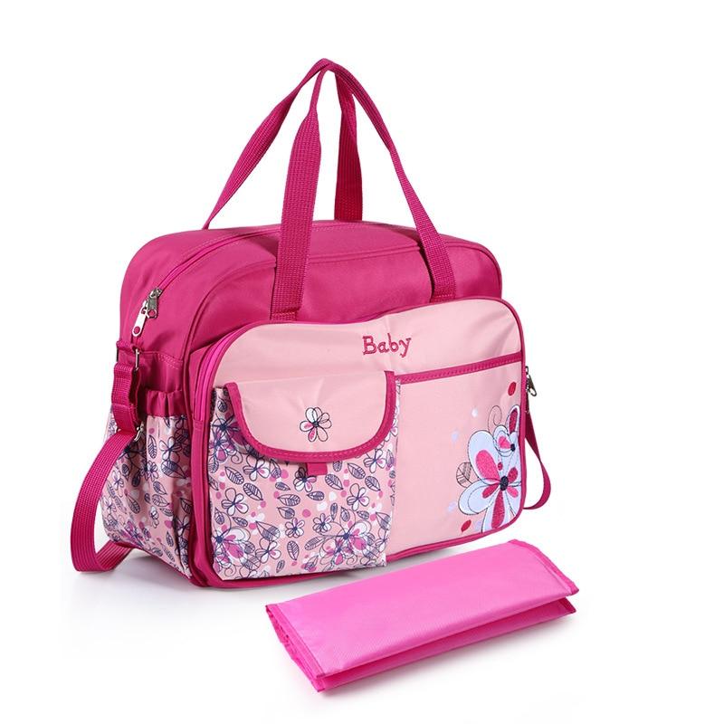 New Cute Mommy Diaper Bag Large Capacity Maternity Bags Nappy Nursing Travel Tote Waterproof Stroller for Baby Bolsa Maternidad