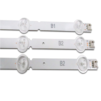 3PCS * 7LED LED Backlight Strip Substituição compatível para 32LN541V 32LN540V B1 / B2-Type 6916L-1437A 6916L-1438A LC320DUE SF R1 1