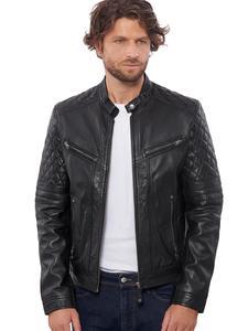 Image 2 - Vinas marca europeia dos homens premium buffalo jaqueta de couro para homens inverno real couro da motocicleta jaquetas motociclista bravo
