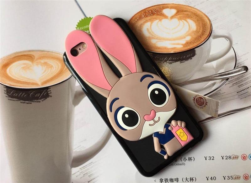 3D Cartoon Case Soft Silicone Rabbit Cover for Xiaomi Mi 9T Pro A2 Lite A1 5X 6X 5 Prime 5C Note 2 3 Black Shark Play Coque