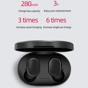 Image 3 - A6S TWS Bluetooth 5.0หูฟังสำหรับXiaomi Redmi Airdotsหูฟังไร้สายชุดหูฟังสเตอริโอตัดเสียงรบกวนพร้อมไมโครโฟนสำหรับiPhone Huawei