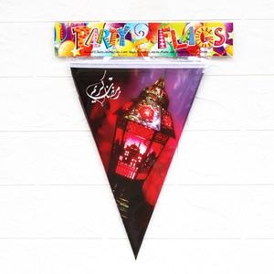 Image 5 - Рамадан, Kareem украшения, Eid, Мубарак, печатный баннер, гирлянда, мусульманские Вечерние украшения для дома, Eid, аль Фитр, Рамадан, Мубарак, Декор