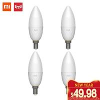 Yeelight LED Bulb E14 smart bluetooth Mesh Version with Yeelight mesh Gateway mijia Mi Home App xiaomi youpin Candle Bulb new