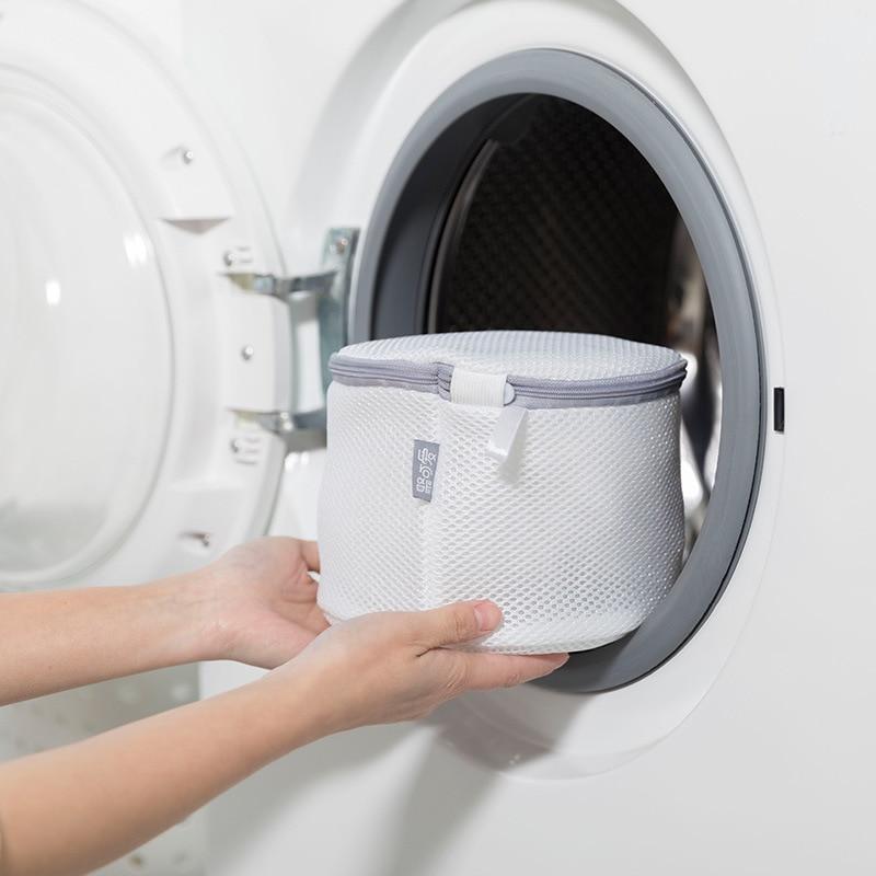Ev Aletleri'ten Sebze Yıkayıcılar'de Tatlı pazarı çamaşır torbası koruyucu çamaşır torbası iç çamaşırı sutyen çamaşır koruma çanta çamaşır makinesi Net cep koruyucu title=