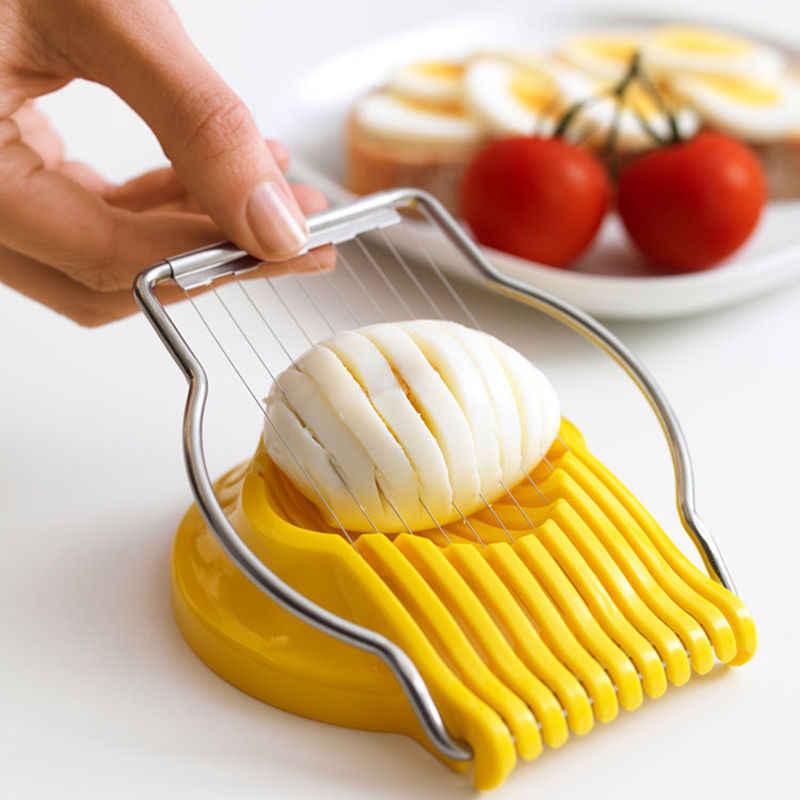 Egg Slicer Cutter Mushroom Boiled Cut Tomato Fruit Kitchen Tool