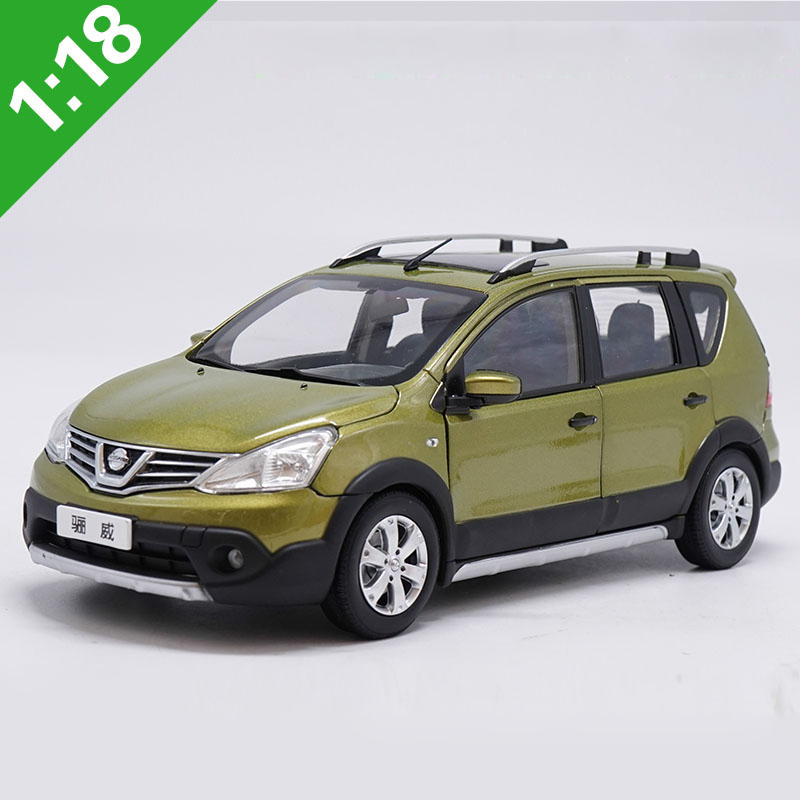 Original Box <font><b>1:18</b></font> High Meticulous <font><b>NISSAN</b></font> Livina Alloy Model <font><b>Car</b></font> Static Metal Model Vehicles For Collectibles Gift image