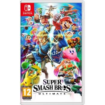 Super Smash Bros. Ultimate Switch Juegos Nintendo Switch Lucha Edad 12+
