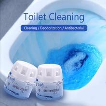 Пенопластовые очистители автоматический для туалета средства для чистки туалетов волшебное промывание помочь синий удивительный пузырь