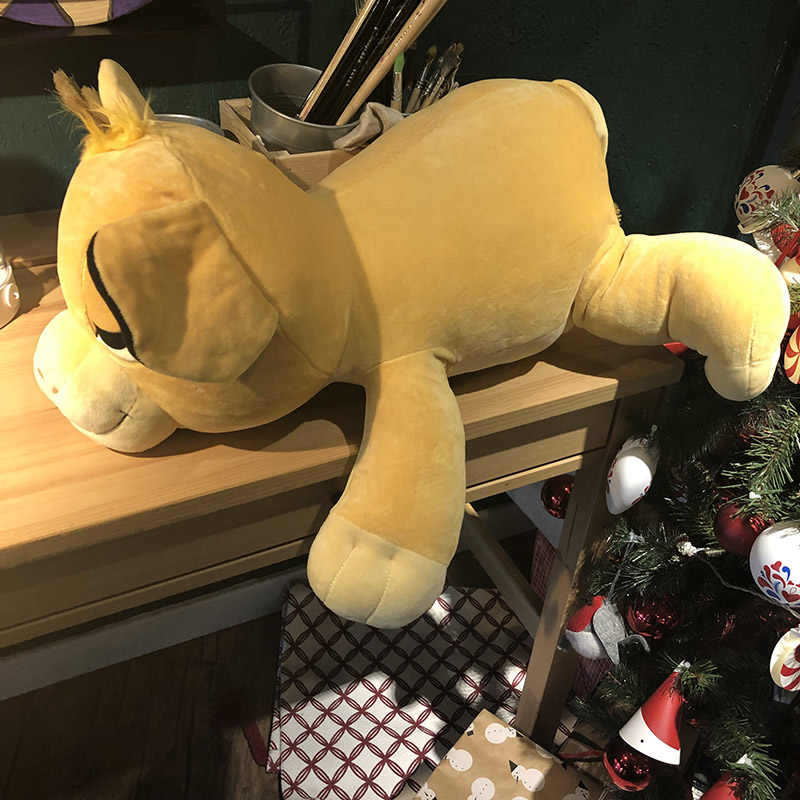Jumbo aslan kral Simba Cuddleez peluş bebek yumuşak yastık oyuncak 60cm hediye