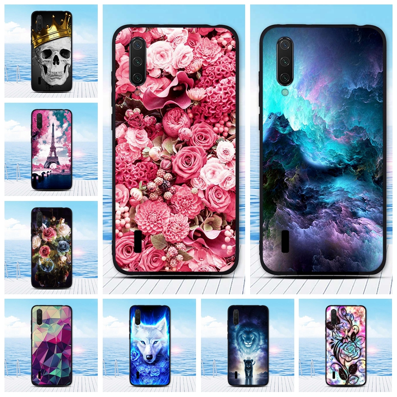 Case For <font><b>Xiaomi</b></font> Mi CC9 Case <font><b>Cover</b></font> Soft Silicon Back <font><b>Cover</b></font> For <font><b>Xiaomi</b></font> MiCC9 Mi9Lite Coque Fundas For <font><b>Xiaomi</b></font> Mi <font><b>9</b></font> Lite Phone Cases image