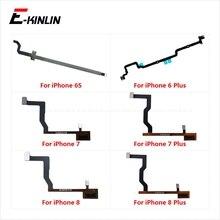 10pcs/lot 3D Touch Home Button Main Motherboard Connector Flex Cable Fibbon For iPhone 6 6S 7 8 Plus