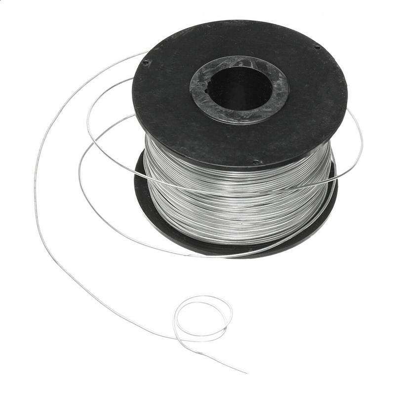 New 2PC 100M 0.8mm Rebar Tier Tying Wire Coil For Automatic Rebar Tier Tying Machine