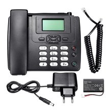 Desktop Wireless Telephone GSM Fixed Phone Support SIM Card for House Home Call Center Office Company Hotel EU Plug(China)