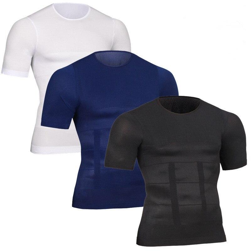 Männer Abnehmen Former Haltung Weste Männlichen Bauch Bauch Für Corrector Compression Body gebäude Fett Brennen Brust Bauch Hemd Korsett